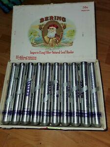 Bering cigars in the cardboard box